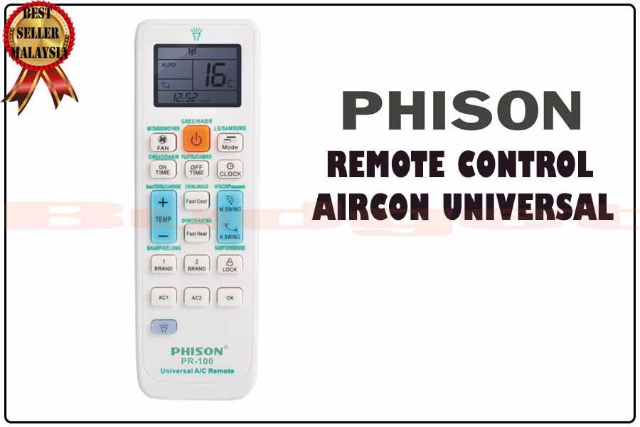 Best Universal Remote 2020.Phison Universal Aircond Remote Control Pr100