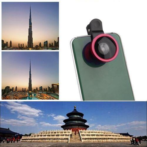 Phone & Tablet Accessories Universal 0.4X Super Wide Angle Selfie Cam