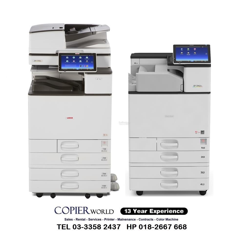 PhotoCopier Mesin Fuji XEROX C2270/C3371 Colour COPY PRINT SCAN A4 A3