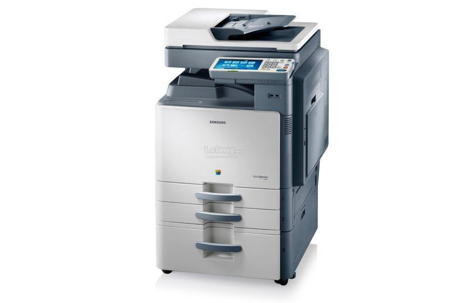 PhotoCopier Mesin Samsung CLX-9352NA Colour A3 Copy,Print,Scan