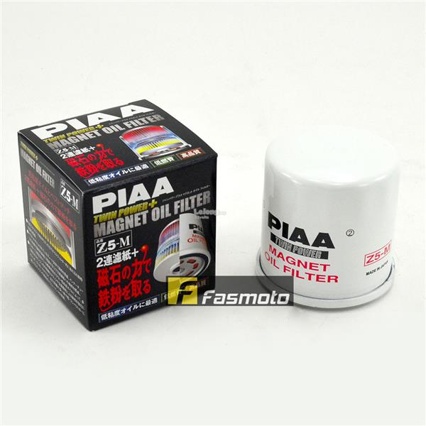 PIAA Z5-M Twin Power Magnet Oil Filter for Select Japanese Car Makes