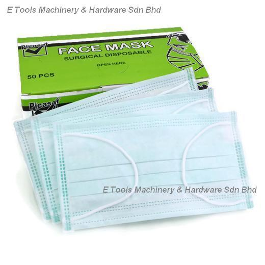 PICASAF FACE MASK SURGICAL DISPOSABLE