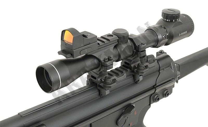 PICATINNY CLAW RAIL SCOPE & SIGHT MOUNT FOR MP5 G3 GSG5 GSG-5 A5