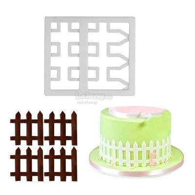 Picket Fence Sugarcraft Cutter