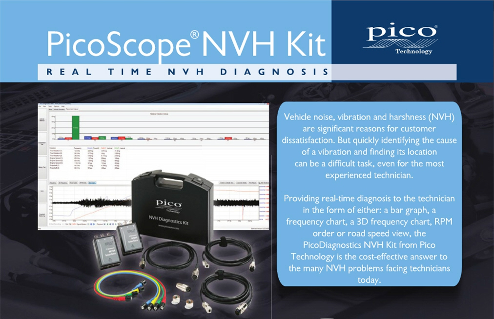 PicoScope NVH Standard Diagnostic Kit in Carry Case