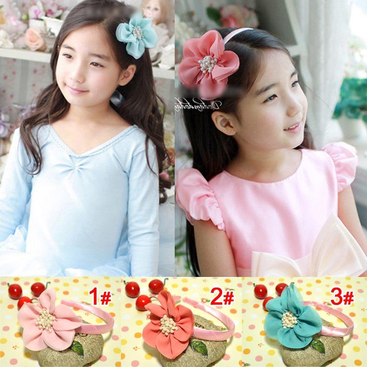 Pincess Girl's Flower Hair Hoop / Headband