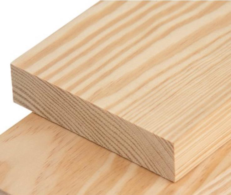 Pine wood 5 pieces with thickness 17mm