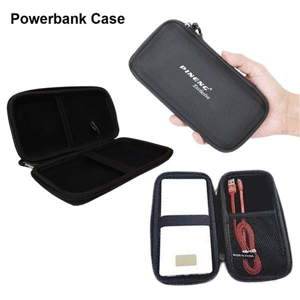 Pineng Multipurpose Hard Cover Power Bank Protective Case (With Hook)