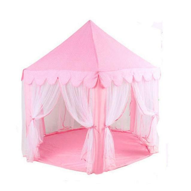 Pink Princess Canopy Portable Fairy Tent Indoor Outdoor Playhouse  sc 1 st  Lelong.my & Pink Princess Canopy Portable Fairy (end 11/8/2018 12:05 PM)