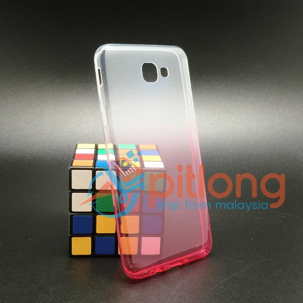 Pink Samsung J5 Prime G570 Tra End 10 13 2020 1139 Am Transparent 2 Tone Colour Soft Tpu Slim