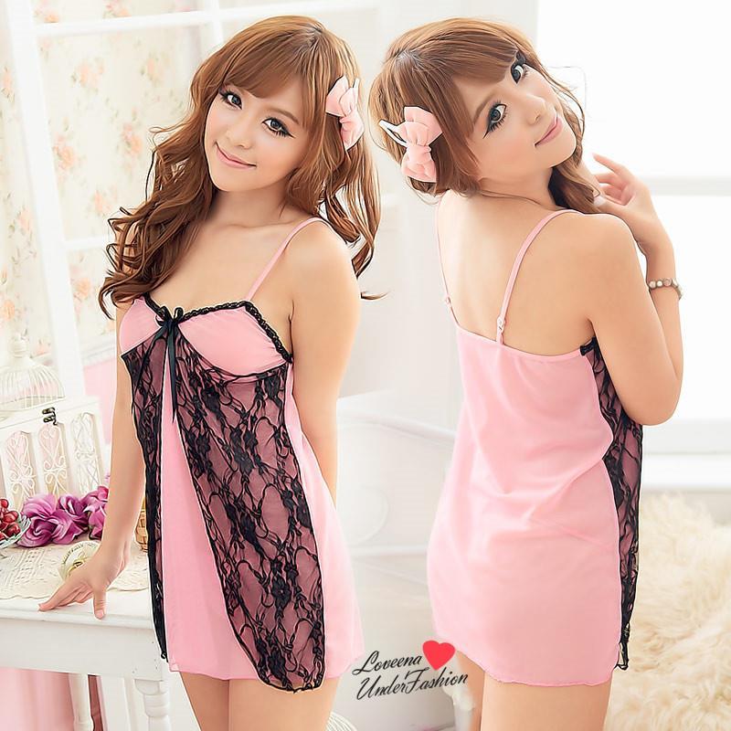 1ae80e76b8 Pinky Lace Babydoll Dress Sexy Lin (end 11 20 2019 12 00 PM)