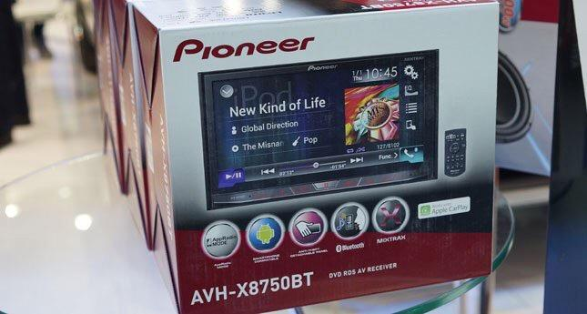 Pioneer AVH-X8750BT car double din ( 3 years warranty )