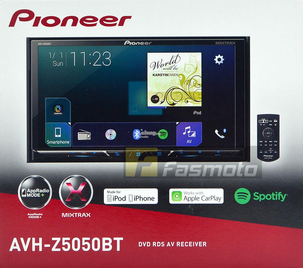 Pioneer avh z5050bt 7 apple carplay android auto appradio bluetooth f