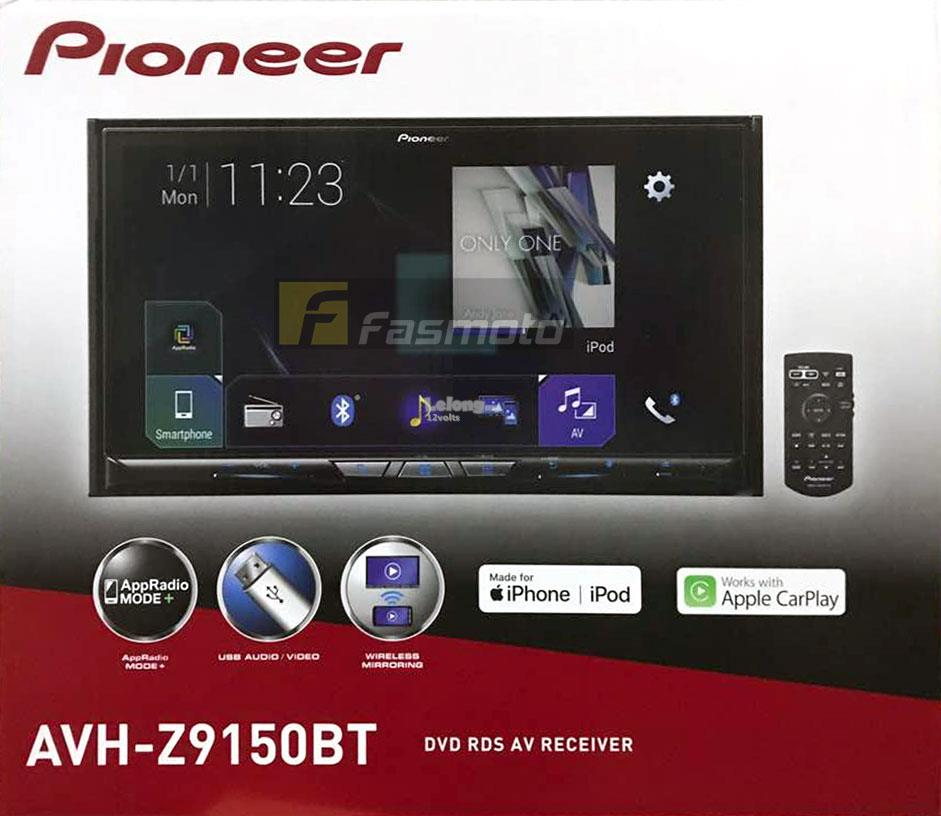 pioneer avh z9150bt 7 39 wireless appl end 6 13 2019 3 15 pm. Black Bedroom Furniture Sets. Home Design Ideas
