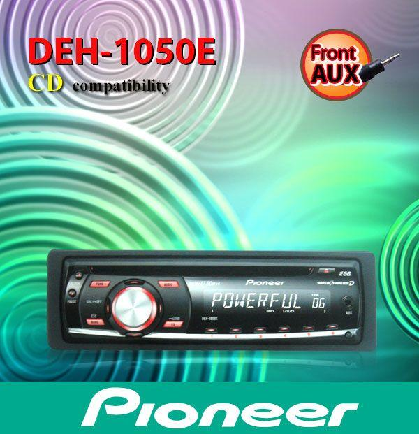 PIONEER DEH-1050E 4 Channel CD Playe (end 1/8/2016 11:59 PM)