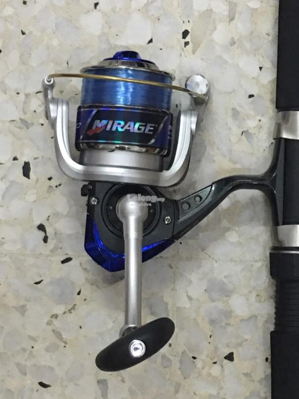 NEW - Pioneer Fishing Rod + Reel + Line [ PROMOTION FULL COMBO SET ]