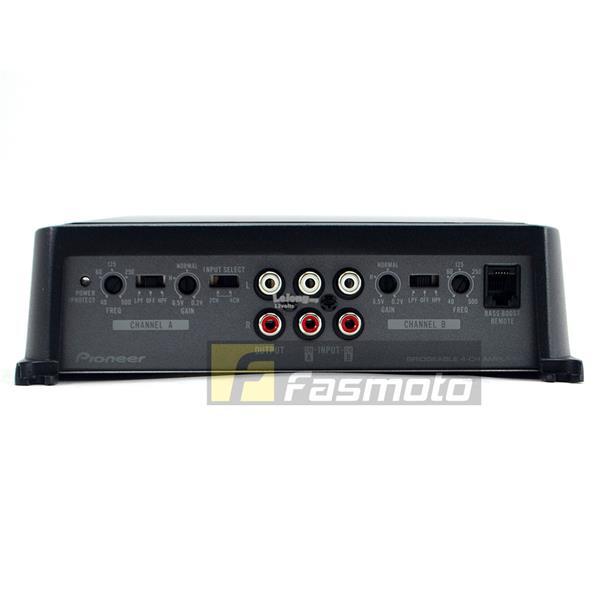 Pioneer GM-D9604 1600W Watt 4 Bridgeable Channel Car Amplifier