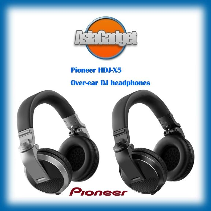 Pioneer HDJX5 Over-Ear DJ Headphones