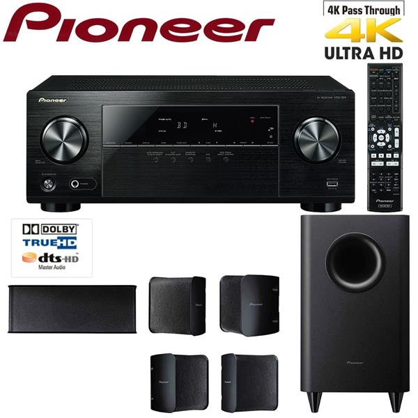 Pioneer HTP-074 5 1 Channel Home Theatre System