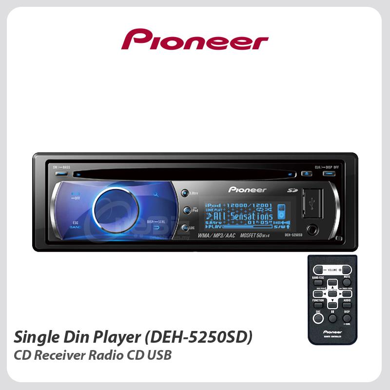 Pioneer  Din Cd Car Receiver