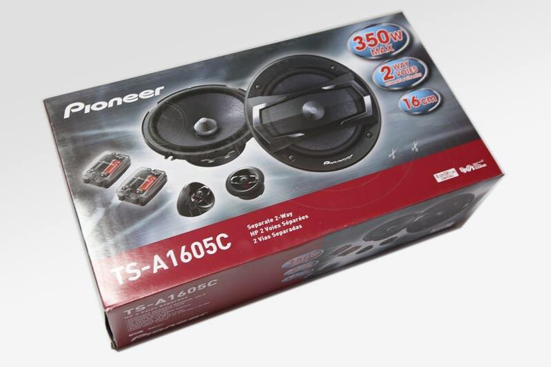 Pioneer TS-A1605C 6.5' car component system LATEST MODEL