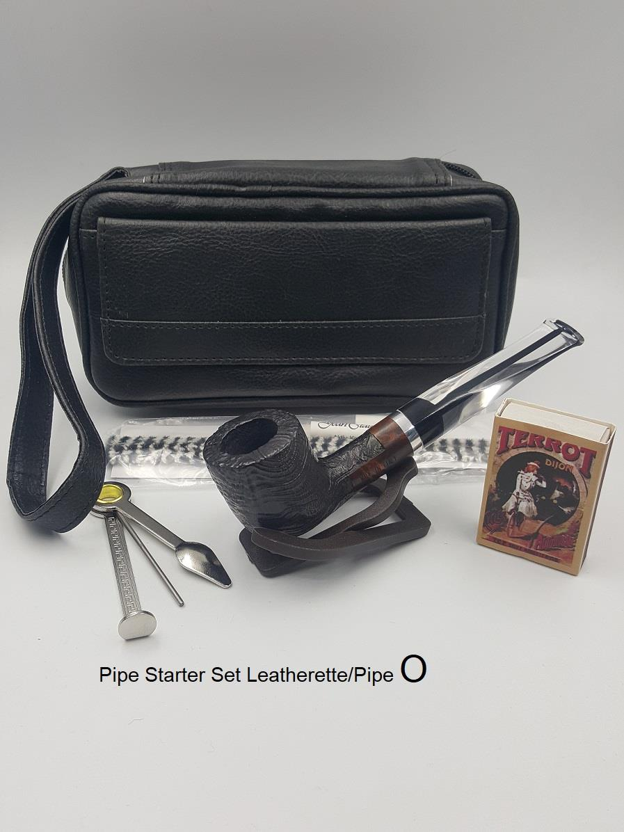 Pipe Starter Set Leatherette/Pipe (409104)(O)