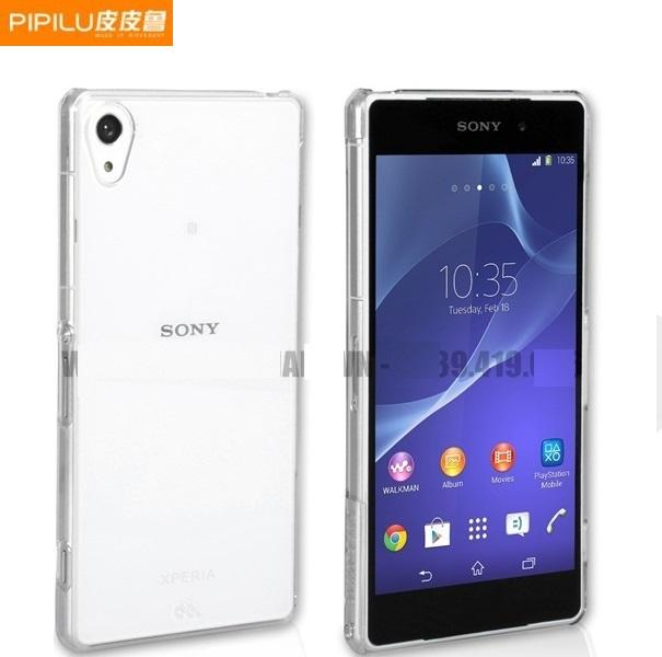 watch aa9d0 c6200 PiPiLu Ultra Thin Light SONY Xperia Z2 TPU Jelly Back Cover Case