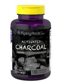 Piping Rock, Activated Coconut Charcoal, 260 mg (180 Caps)