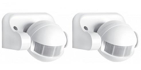 PIR Sensor Wall Motion Detector Light Switch (2pcs)