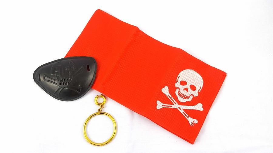 Pirate Eye Patch Accessory Set