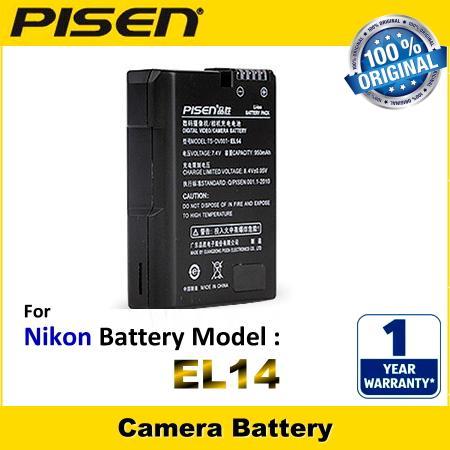 Baterai Kamera En El14 For Nikon Hitam Daftar Harga Terbaru Source · PISEN Camera Battery EN