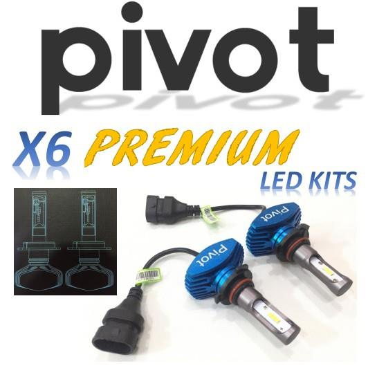PIVOT X6 Premium LED Headlight (9005)