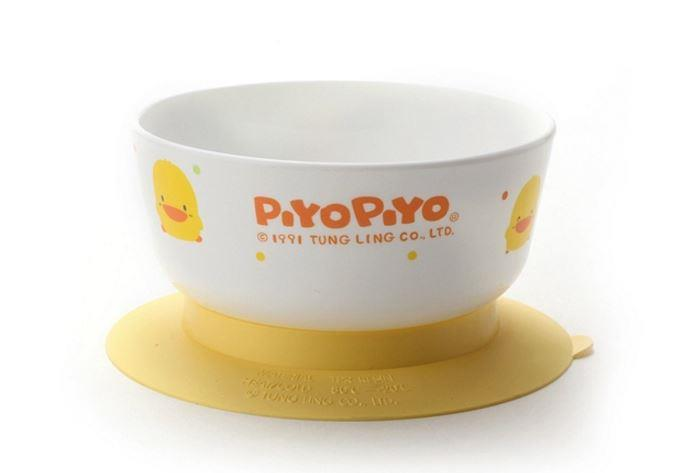 PIYO PIYO NON SLIDE TRAINING BOWL (MICROWAVEBLE)