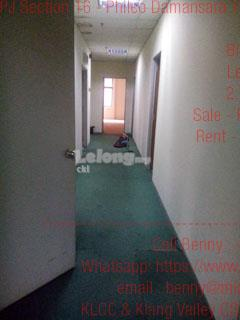 PJ Section 16 - Phileo Damansara 1 Office for Rent, Petaling Jaya, Sel