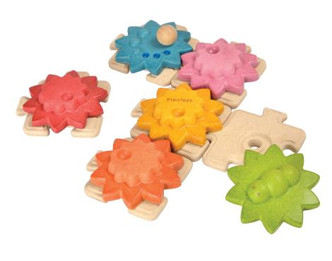 Plan Toys-Gears & Puzzles – Standard