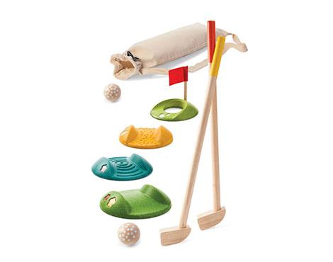 Plan Toys -Mini Golf – Full Set