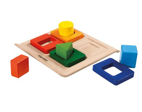 Plan Toys-Shape Sorter