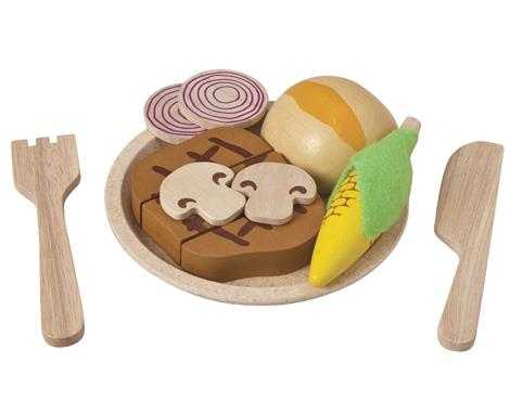 Plan Toys-Steak Set