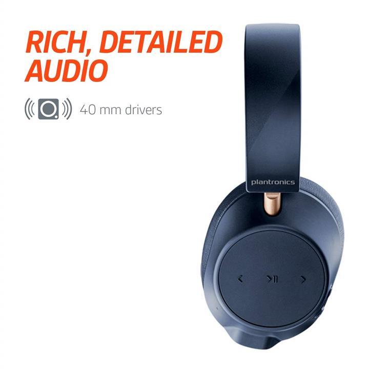 ea45925c879 Plantronics BackBeat GO 810 Wireless Noise Canceling - Bone White