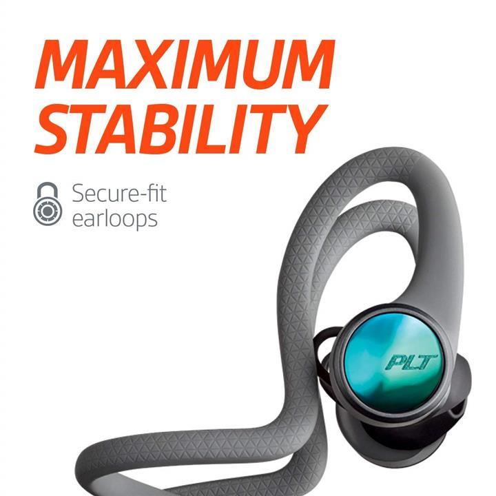 huge discount 3b36a 5fc31 Plantronics BackBeat FIT 2100 Sweatproof and Waterproof in Ear-Grey