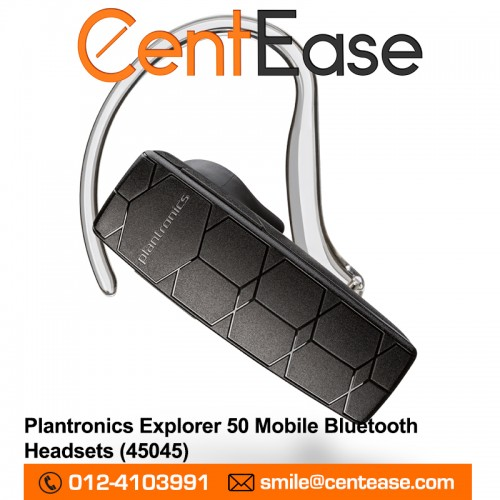 Plantronics Explorer 50 Mobile Bluetooth Headsets. ‹ ›