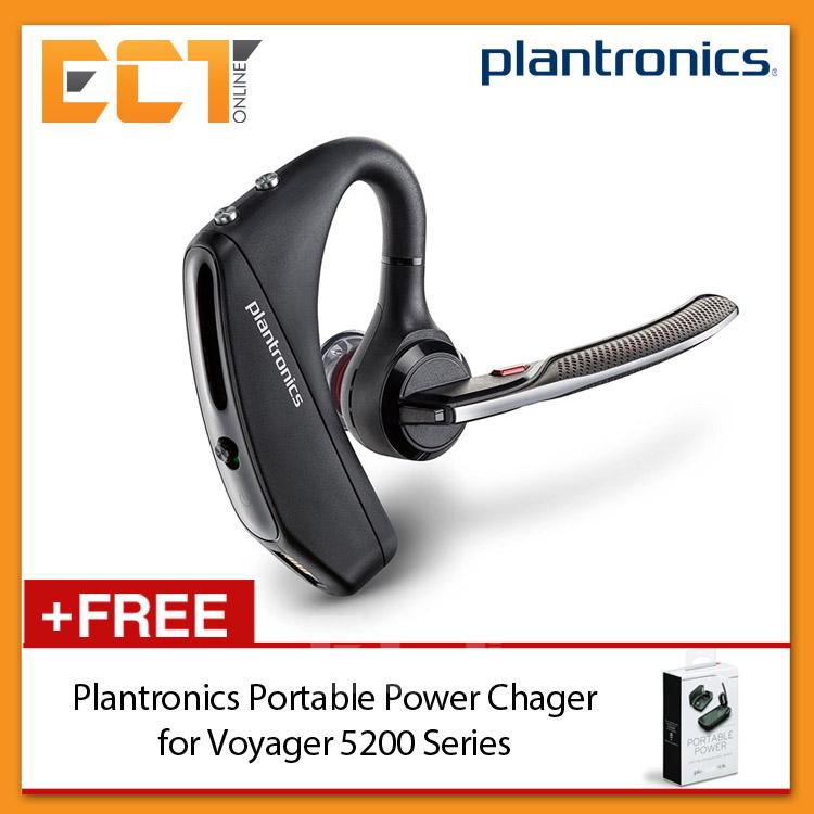 6e4f72b2c65 Plantronics Voyager 5200 Wireless Bluetooth WindSmart Technology Headset  with. ‹ ›