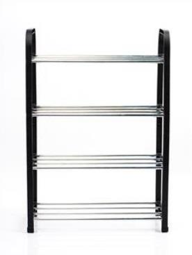 Plastic & Steel Shoe Rack