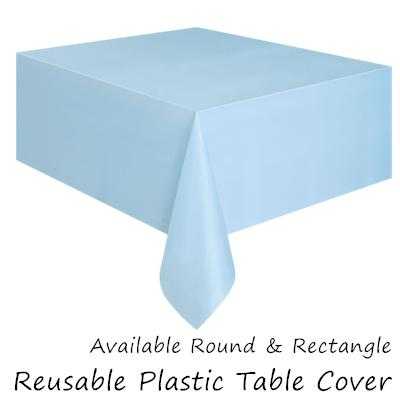 Plastic Table Cover For Rectangle And Party Decoration