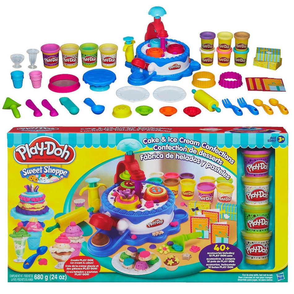 Play-Doh Sweet Shoppe Cake & Ice Cream Confections Set