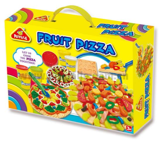 Play dough, fruit pizza, educational toy for kids, creativity & fun