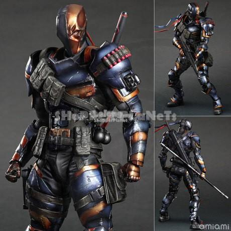 Playarts Play Arts Kai Arkham Origins Deathstroke DC Comics
