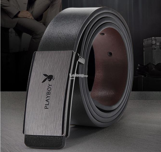 Playboy 2018 - The Metalised Leather Belt for men