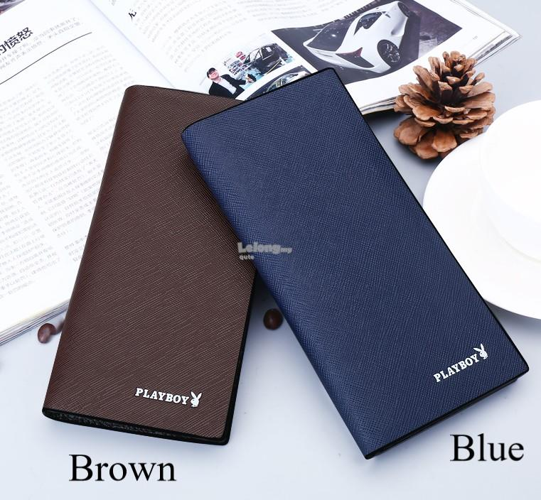 Playboy 2018ST – The Slim Leather Long Wallet for men