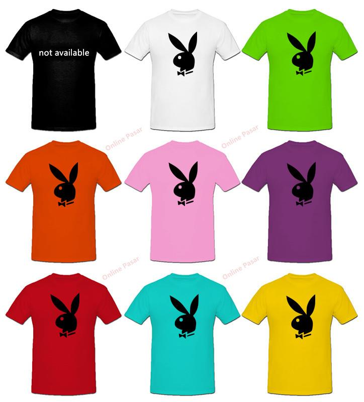 Playboy T-Shirt with 8 Colour Choices